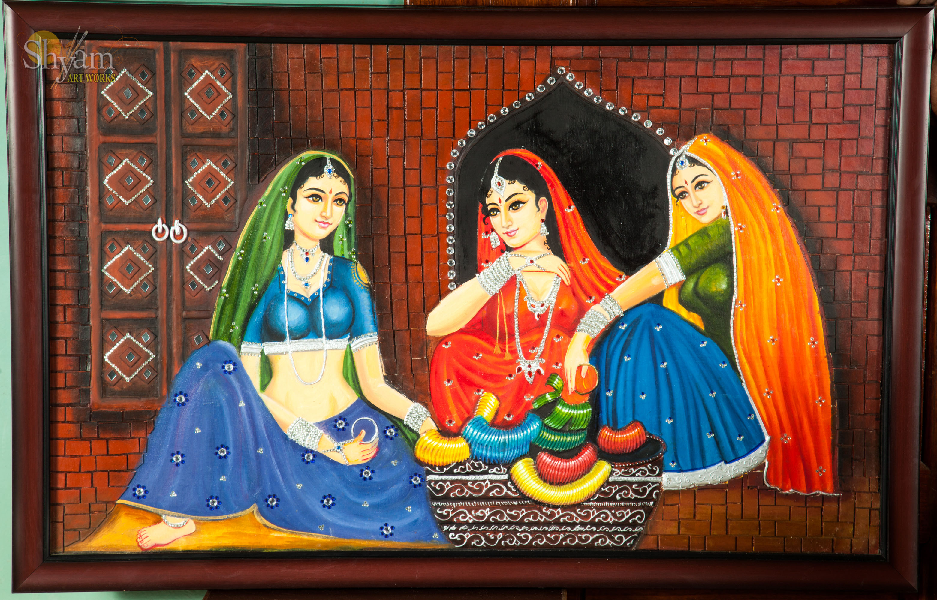 Oil Indian Paintings